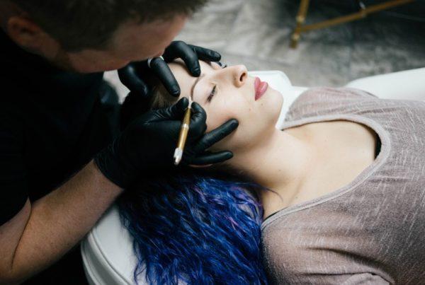 eyebrow tattoo in southlake